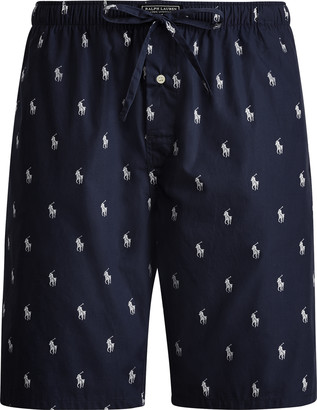 Ralph Lauren Allover Pony Pajama Short