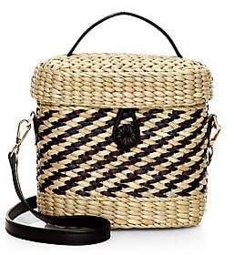 Poolside Women's The Ashleigh Woven Straw Canteen Bag