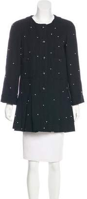 Chanel Embellished Wool Jacket
