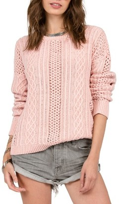 Women's Volcom Mess Round Crewneck Sweater $49.50 thestylecure.com