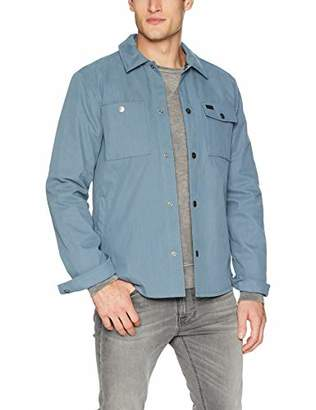 RVCA Men's Utility Shirt Jacket