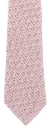 Louis Vuitton Printed Silk Tie