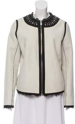 Maison Scotch Embellished Casual Jacket w/ Tags
