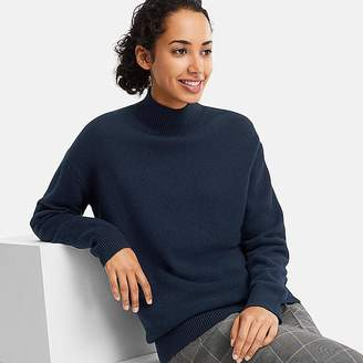 Uniqlo Women's Premium Lambswool High-neck Tunic