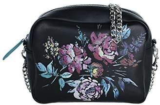 Bandolera Starlite Shop Valeria Mazza Design, negro, Women's Top-Handle Bag,5x14x19 cm (W x H L)