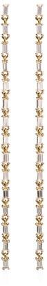 Lizzie Mandler Fine Jewelry Baguette ダイヤモンド ピアス ピアス 18Kイエローゴールド