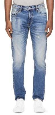 Calvin Klein Jeans Slim-Fit Distressed Jeans