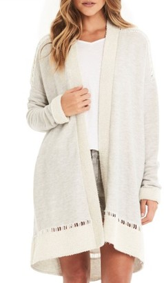 Women's Michael Stars Open Terry Cardigan $138 thestylecure.com