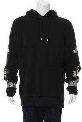 Gucci 2016 Embroidered Hoodie