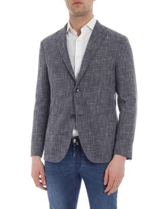 Boglioli Cotton And Wool Jacket