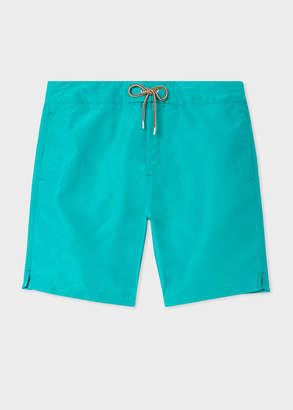 Paul Smith Men's Turquoise Board Shorts