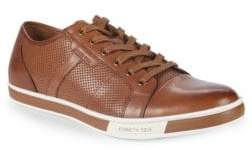 Kenneth Cole New York Brand Leather Low-Top Sneakers