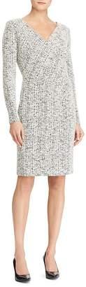 Lauren Ralph Lauren Petites Printed Jersey Dress
