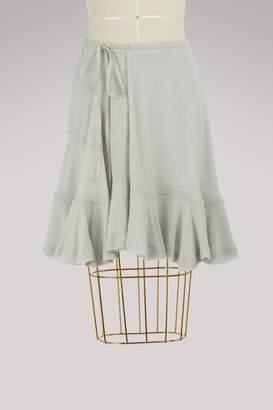Chloé Ruffled skirt