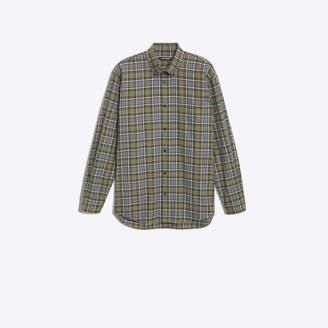 Balenciaga Cotton poplin shirt with back logo