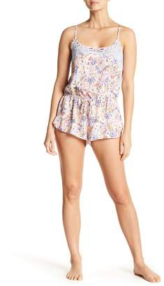 Jonquil In Bloom by Windflower Lace Panel Romper