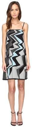 M Missoni Lurex Lightning Intarsia Dress Women's Dress