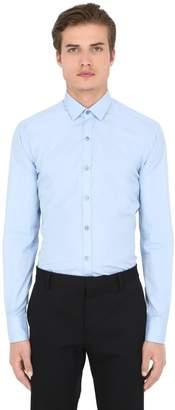 Lanvin Slim Fit Cotton Poplin Shirt