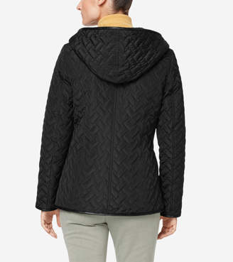 Cole Haan Sherpa Lined Quilted Jacket