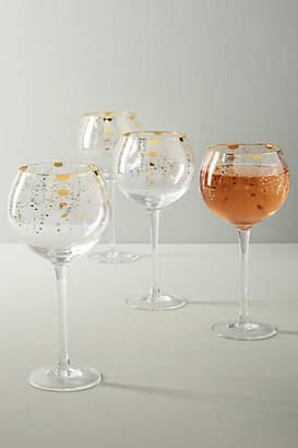 Anthropologie Celine Wine Glasses, Set of 4