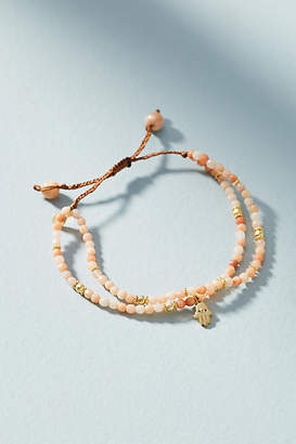 Anthropologie Hamsa Layered Bracelet