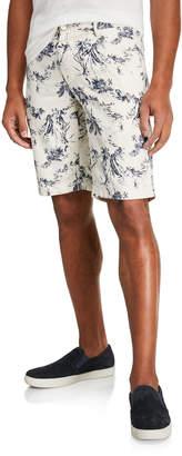 Kiton Men's Tropical Print Shorts