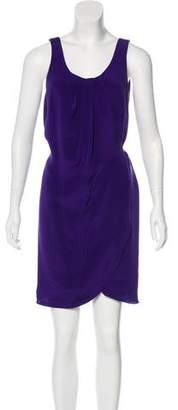 Alexander Wang Sleeveless Silk Mini Dress