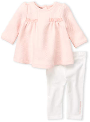 Calvin Klein Jeans Newborn Girls) Two-Piece Quilted Tunic & Leggings Set