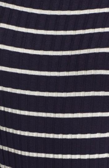 Women's Lush High Neck Knit Midi Dress 4