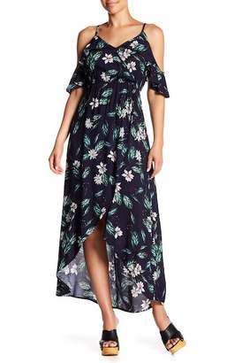 Cotton On & Co. Deb Cold Shoulder Hi-Lo Dress