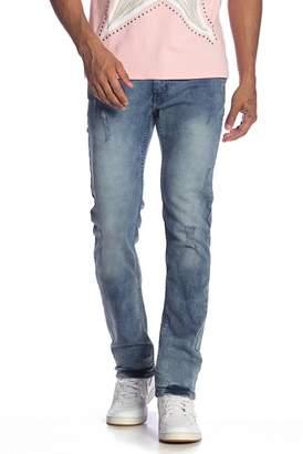 X-Ray XRAY Faded Detail Denim Jeans