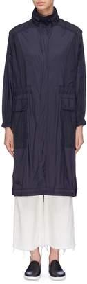 Vince Retractable hood trench coat