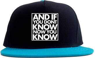30cd6b7ccaaa4 Kings Of NY And If You Don T Know 2 Tone Snapback Hat
