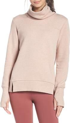 Alo 'Haze' Funnel Neck Sweatshirt