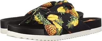 Rocket Dog Women's Loving Pineapple Pen Fabric Slide Sandal