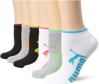 Puma Women's Half Terry Runner Socks 6-Pack