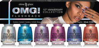 China Glaze Online Only OMG! Flashback 10th Anniversary Micro Mini Kit