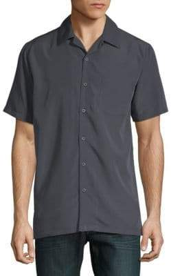 Saks Fifth Avenue Short-Sleeve Camp Button-Down Shirt