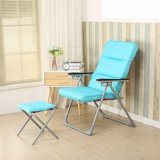 Winter chair single sofa chair / dorm computer chair / leisure folding chair / lunch break / autumn and winter modern simple chair ( Color : )