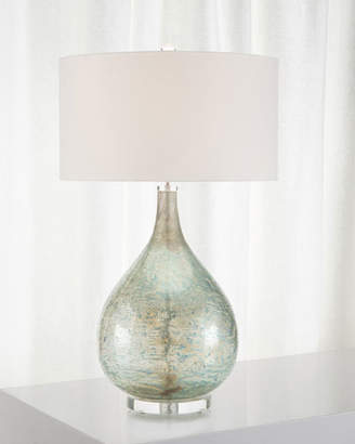 John-Richard Collection Deep Ocean Blue Table Lamp