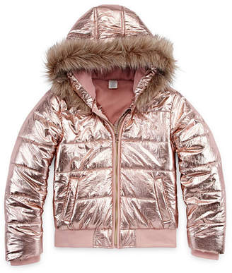 Arizona Heavyweight Puffer Jacket - Girls 4-16