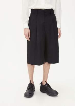 Issey Miyake Wool Voile Pleated Short