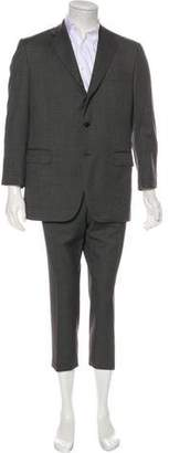 Caruso Wool Cropped Suit