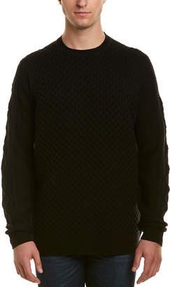 Karl Lagerfeld Textured Wool-Blend Pullover
