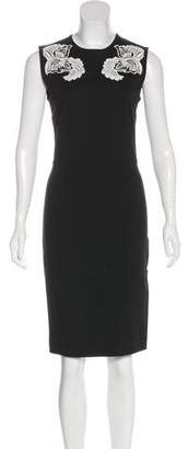Stella McCartney Embroidered Knee-Length Dress