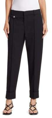 Proenza Schouler Carrot Stretch Wool Suiting Pants