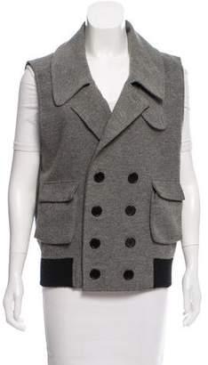 Alexander Wang Wool Blend Button-Up Vest