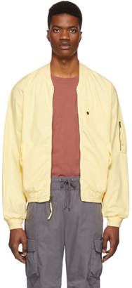 John Elliott Yellow Military Field Jacket