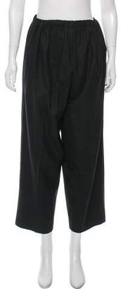 eskandar Wool High-Rise Pants