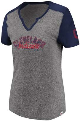 Majestic Women's Cleveland Indians Invulnerable Tee